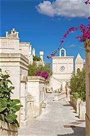 Borgo Egnazia Uhrturm