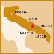 Standort Abate Masseria & Ressort